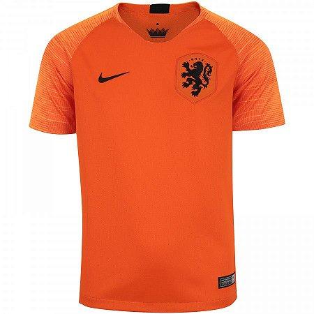 Camisa Seleção Holanda Home 2018 - s n° - Torcedor Nike Masculina ... 8d2c75ac05eec