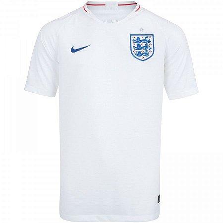 2288d3dbb8db7 Camisa Seleção Inglaterra Home 2018 s n° Torcedor Nike Masculina ...