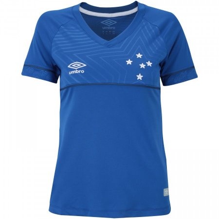 a14f383546e5a Camisa Cruzeiro I 18 19 s n° - Torcedor Umbro Feminina - GT Sport ...