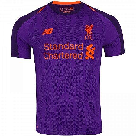 Camisa Liverpool Home I 18 19 - s n° - Torcedor New Balance ... 522469c10070a