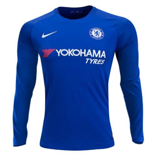 e5bd20b9a0bb8 Camisa Manga Longa Chelsea Home 17 18 - s n° - Torcedor Nike ...