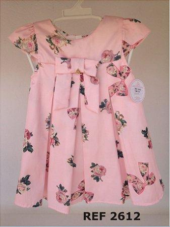 Vestido Infantil Laços Floral