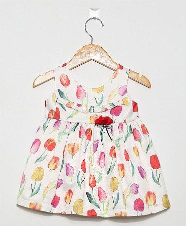 1468 vestido branco tulipas