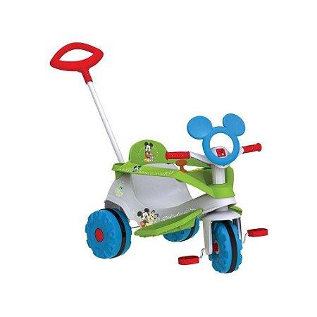 Triciclo Velobaby Disney Mickey Bandeirante