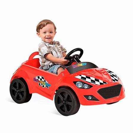 Carro A Pedal Roadster Vermelho Bandeirante