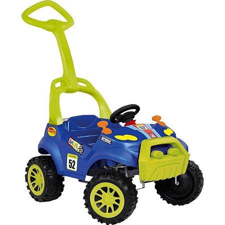 Carro Smart Passeio E Pedal Azul Bandeirante