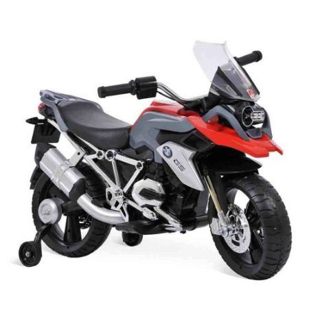 Moto Elétrica BMW GS Vermelha 12V Bandeirante
