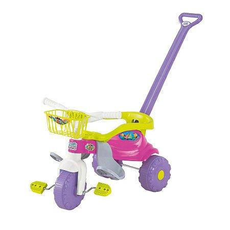 Triciclo Tico Tico Smart Festa Rosa Magic Toys