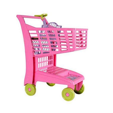 Carrinho de Compras Market Rosa Magic Toys