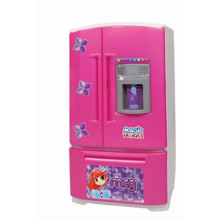 Geladeira Inverse Rosa Magic Toys