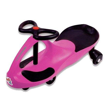 Carrinho Gira Gira Car Infantil Rosa Fênix