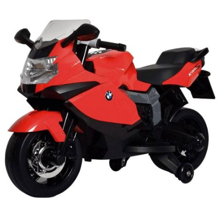 Moto Elétrica BMW K1300 Vermelha Bandeirante