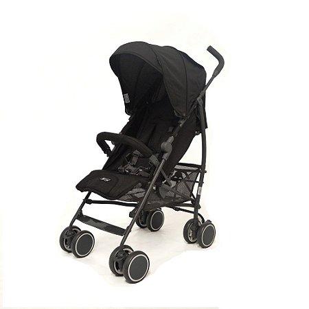 Carrinho De Bebê Genua Woven Black ABC Design