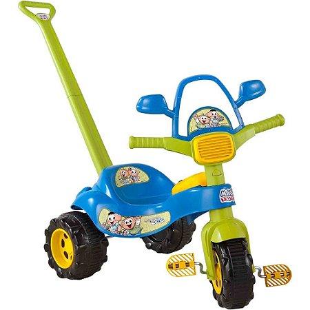 Triciclo Musical Cebolinha Magic Toys