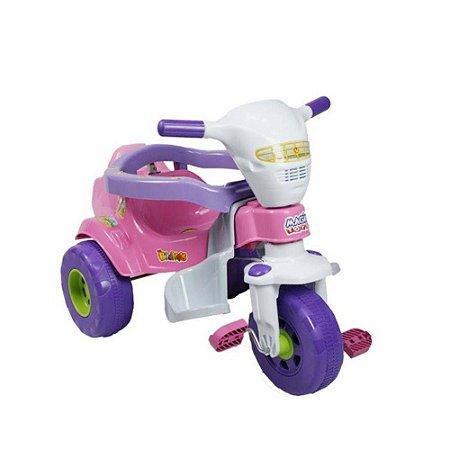 Triciclo Bichos Rosa Magic Toys