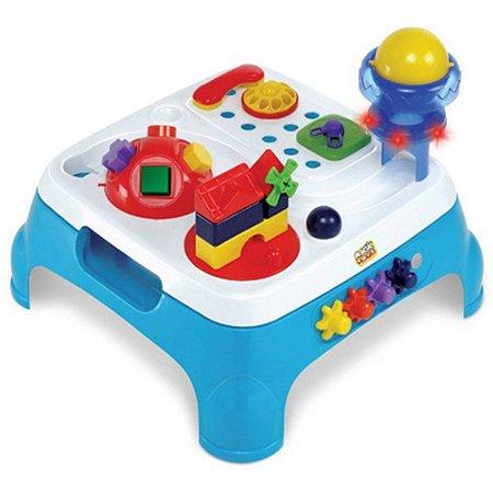 Mesa Maxi Didática Azul Magic Toys