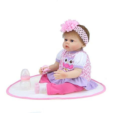 Bebê Reborn Kiki Doll Lara Fenix