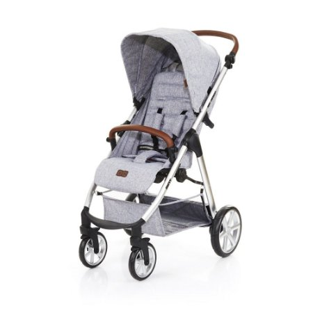 Carrinho de Bebê Mint Graphite Grey ABC Design
