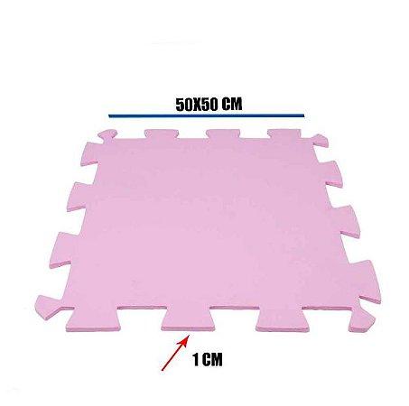 Tatame de EVA Rosa Pink 1 Un 50x50x01 cm