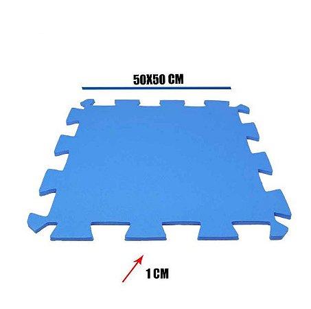 Tatame de EVA Azul Royal 1 Un 50x50x01 cm
