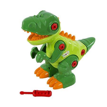 Dinossauro T-Rex Com Som Maral