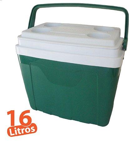 Caixa Térmica 16L Verde Antares