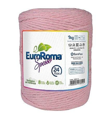 EuroRoma Spesso 24 Fios 1Kg - Rosa Bebê