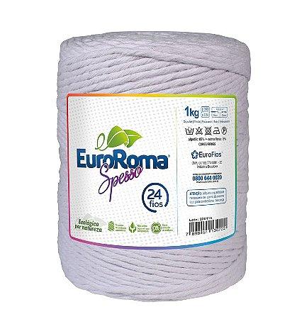 EuroRoma Spesso 24 Fios 1Kg - Branco