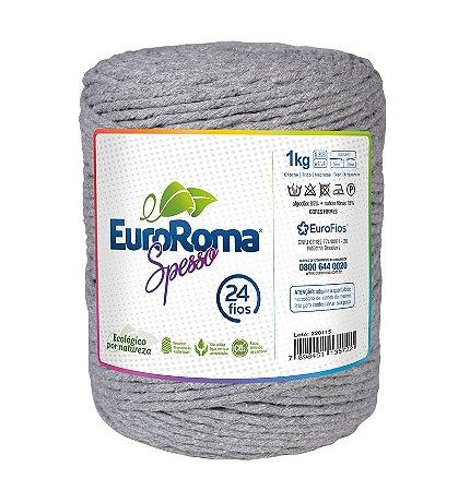 EuroRoma Spesso 24 Fios 1Kg - Cinza
