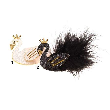 Laço infantil cisne preto