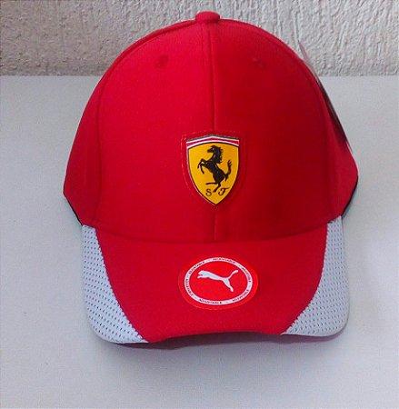 13141cc336cb8 Boné Puma Ferrari - Loja fonte da moda