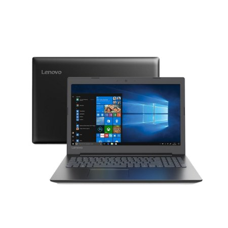 Notebook Lenovo B330-15ikbr Intel Core I5 8250u 15.6 Full HD Windows 10 Home Preto