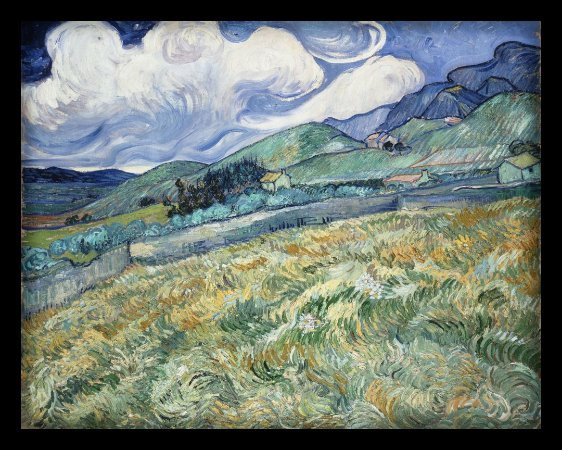 Quadro Decorativo Van Gogh's Landscape Paintings