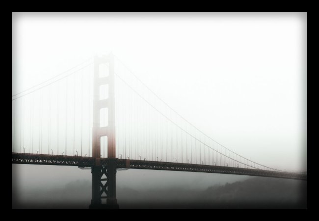 Quadro Decorativo Cidades Ponte Golden Gate