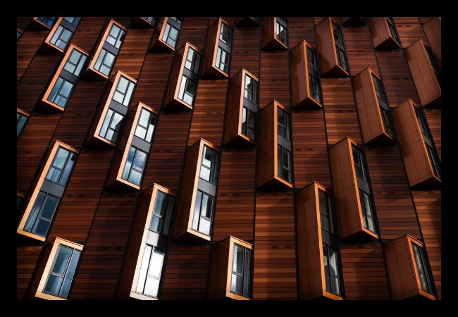 Quadro Decorativo Arquitetônico Espelhos
