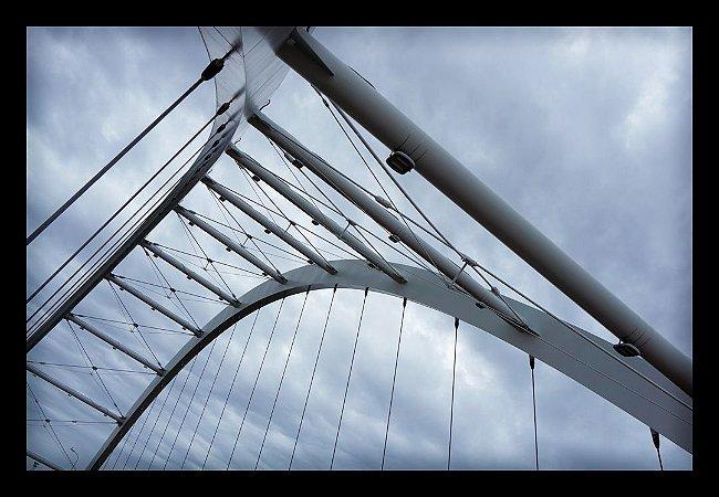 Quadro Decorativo Arquitetônico Ponte 1