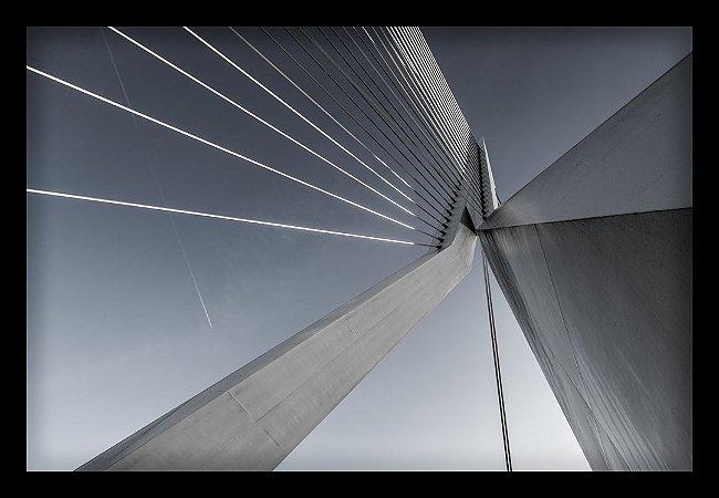 Quadro Decorativo Arquitetônico Ponte 3