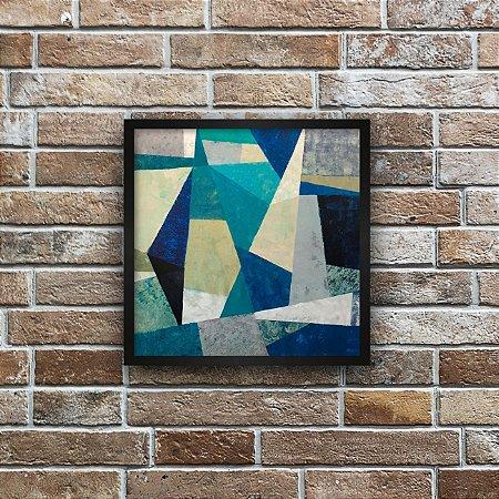 Quadro Decorativo Abstrato Mosaico 2