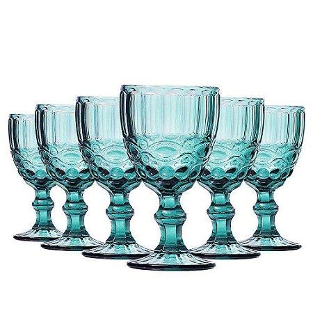 Jogo de Taças Água Elegance Tiffany 270ml Class Home