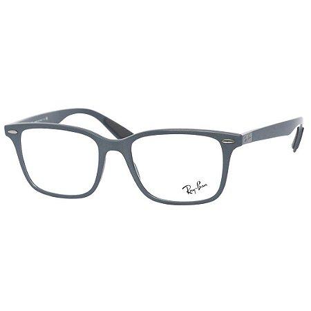 120b3e70c Óculos Masculino de Grau Ray Ban RX7144 Liteforce Cinza Fosco ...
