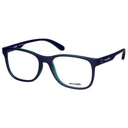 c87420bc5 Oculos de Grau Masculino Arnette AN7144L Azul Marinho com Verde Fosco