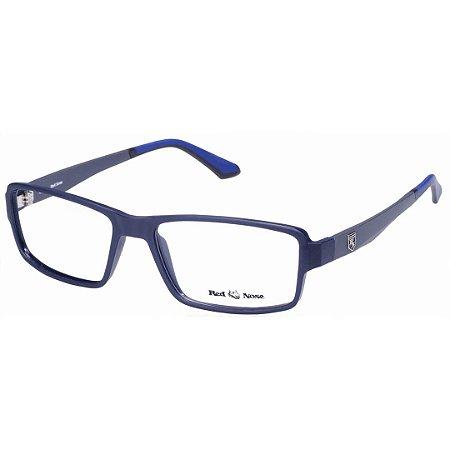 4b853f4ce30d7 Óculos de Grau Red Nose RNG1185 Azul e Cinza Fosco TR Grande ...