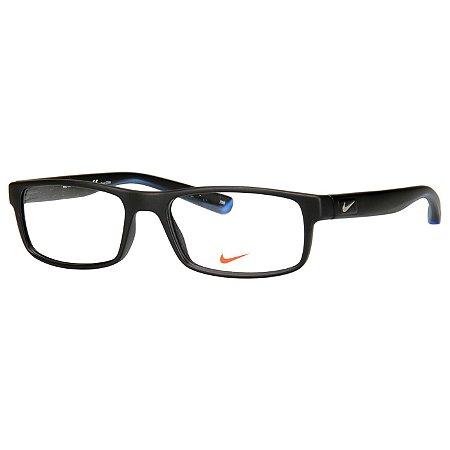 Óculos de Grau Nike 7090 Preto Fosco Médio
