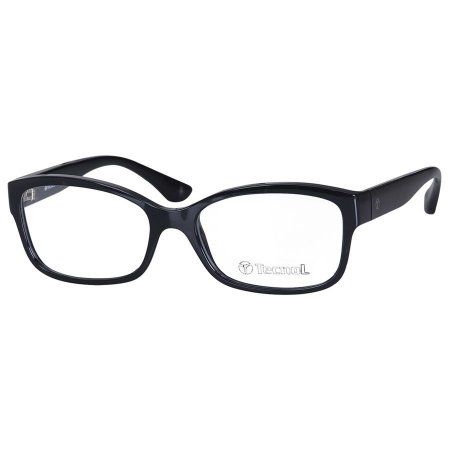 Óculos de Grau Feminino Preto Brilho Tecnol TN3053 Médio