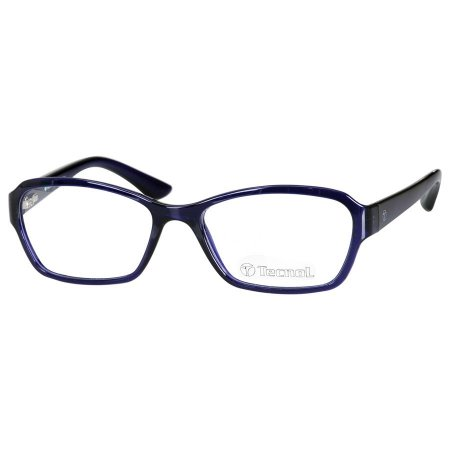 Óculos de Grau Azul Tecnol TN3030 Translúcido Feminino Pequeno