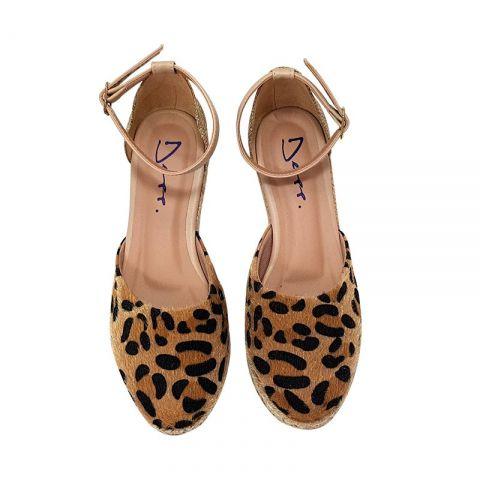 2236cb35a Espadrille Onça C/ Juta Lurex sapatos femininos. - ShoeGirls Sapatos ...