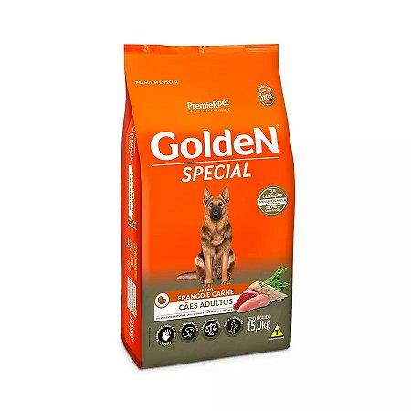 Ração Golden Special para Cães Adultos Frango e Carne 15kg