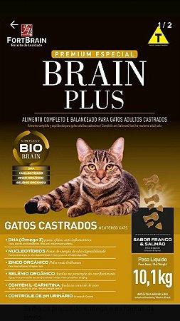 Brain plus gatos castrados 10kg