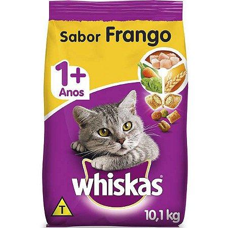 Ração Whiskas Frango para Gatos Adultos