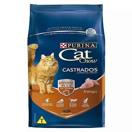 racao cat chow gatos castrados - racao gato castrado